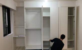 エルグレースタワー大阪同心の洋室に収納家具を製作いたしました