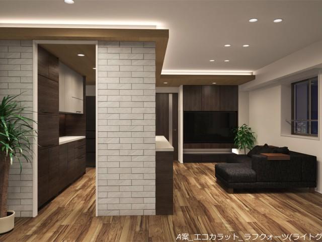 大阪の新築マンションのインテリアをデザインしました