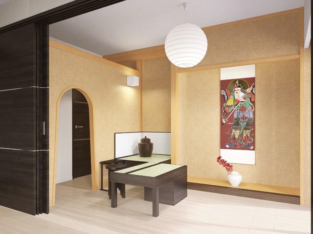 大阪市中央区本町のマンションをデザインしました
