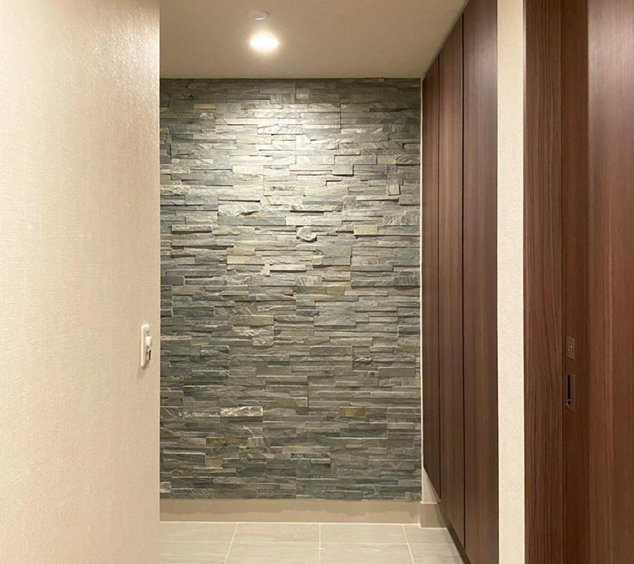 新築のマンションオプション工事での完成写真です